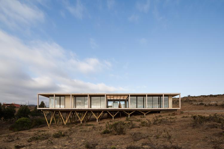 Muelle House / SAA arquitectura + territorio, © Nicolás Saieh