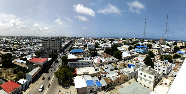 Panoramic view of Mogadishu. Image Courtesy of Design Indaba