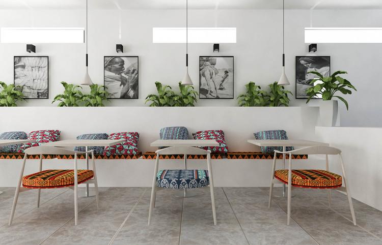 Restaurant Mogadishu Render. Image Courtesy of Design Indaba