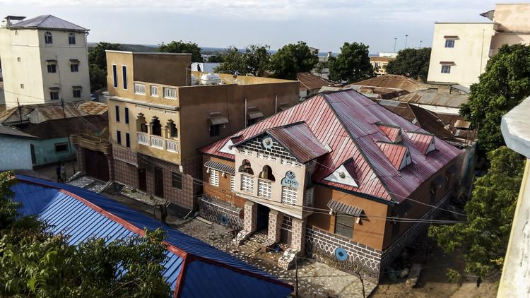 New Houses Waberi District Mogadishu. Image Courtesy of Design Indaba