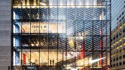 Nova loja da Nike em Nova Iorque busca inspirar confiança nos consumidores