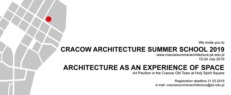 Cracow International Summer School 2019, Cracow International Summer School 2019