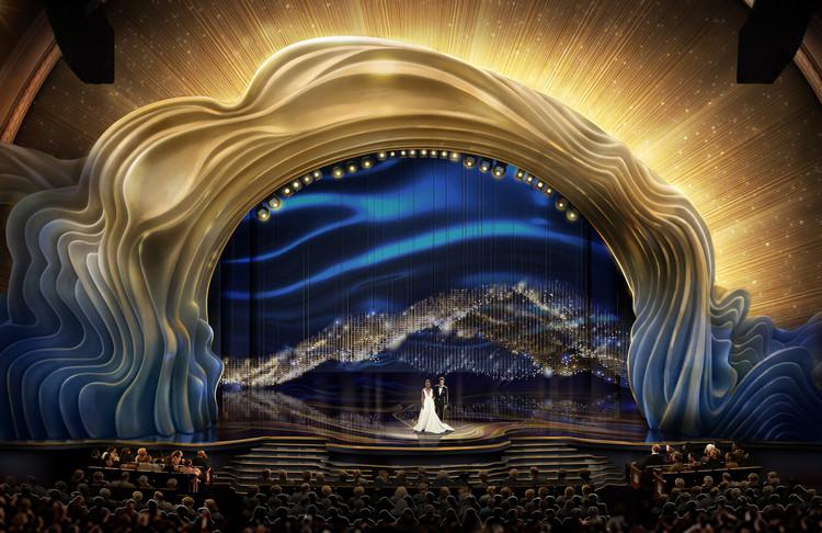 26 mil cristales y 40 mil rosas conformaron la escenografía de los Premios Oscar 2019, via Instagram David Korins