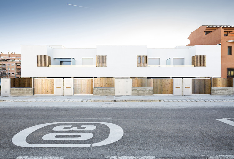 [TWIN] Oito casas geminadas em Granada / DTR_studio architects, © Cris Beltran