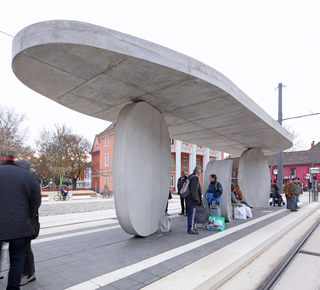 Tram Stop / J. Mayer H. Architects