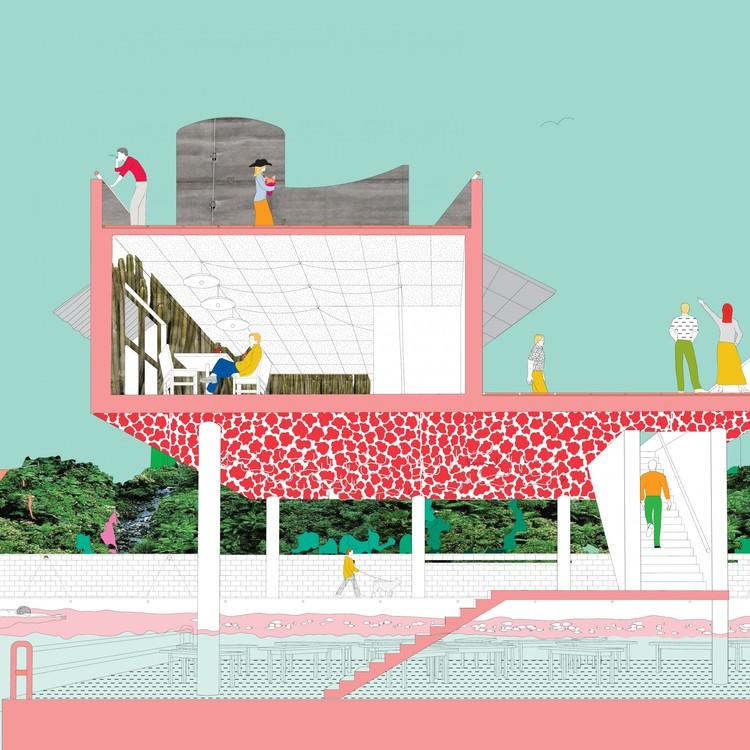 Explora el potencial de la figura humana en la representación arquitectónica, © Frances Edith Cooper