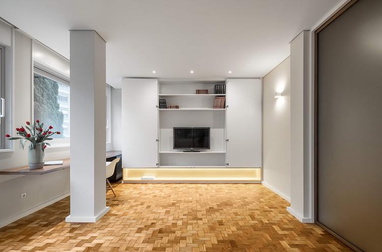Apartamento em Fernão de Magalhães / Impare Arquitectura, © Ivo Tavares Studio