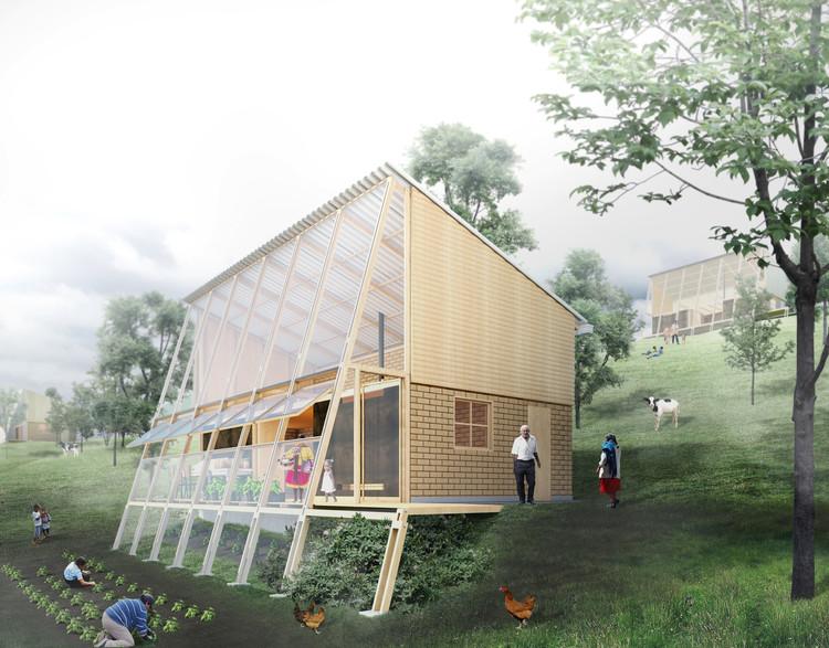 Prototipo de vivienda rural sostenible y productiva en Colombia, por FP Arquitectura, Cortesía de FP Arquitectura