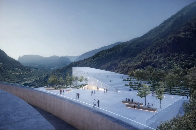 Snøhetta Designs a New Home for Ötzi the Iceman, Bolzano Museum Quarter. Image Courtesy of Snøhetta