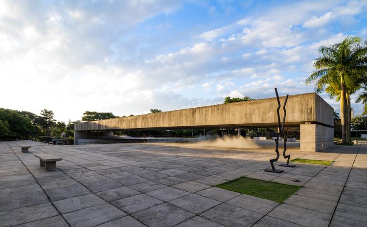 Prefeitura de São Paulo tomba seis obras de Paulo Mendes da Rocha e outros 32 imóveis, Museu Brasileiro da Escultura e Ecologia (MuBE). Image © Flagrante