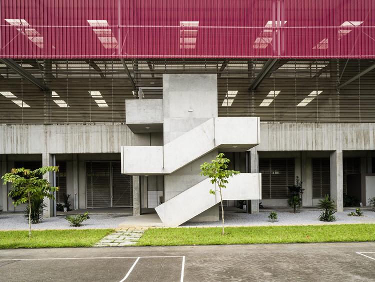 Gymnasium Blaise Pascal High School Koffi Diabate Architectes Archdaily