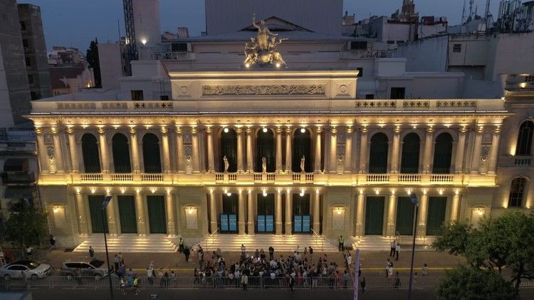 La recuperación del patrimonio en los teatros de Córdoba, Teatro del Libertador General San Martin. Image Cortesía de Natacha Escarguel