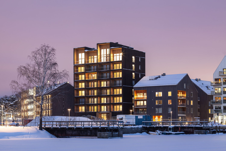 C.F. Møller Architects Completes Sweden's Tallest Timber Building, © Nikolaj Jakobsen