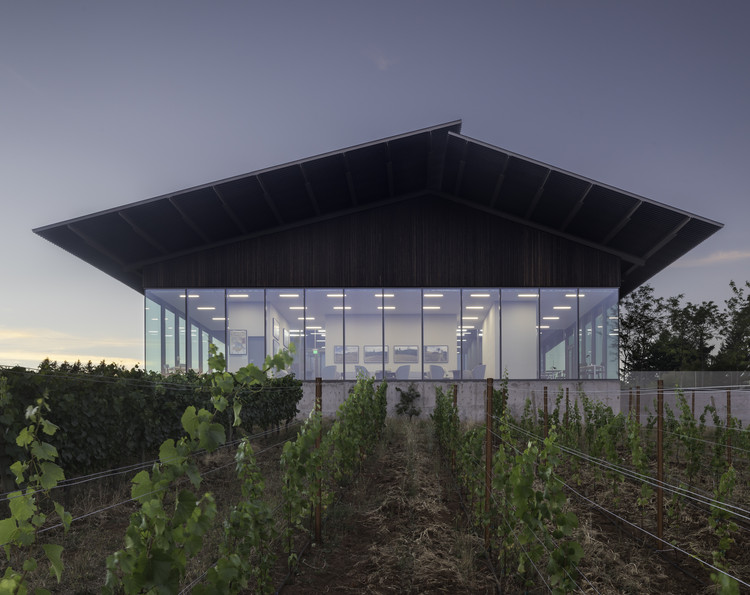 Furioso Vineyards / Waechter Architecture, © Lara Swimmer