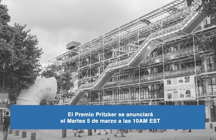 El Premio Pritzker 2019 se anunciará el martes 5 de marzo