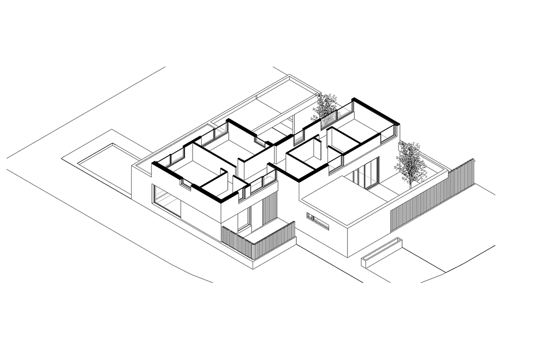 Gallery Of 60 Best Residential Axonometric Drawings