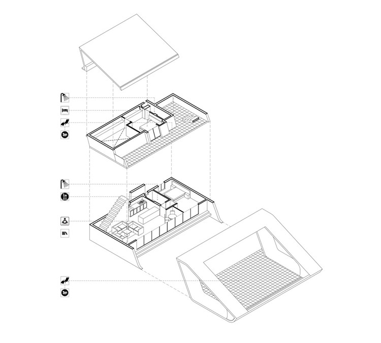 60 Best Residential Axonometric Drawings