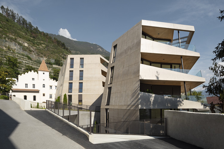 Complexo Residencial Schlossgarten / Marx/Ladurner Architekten, © Samuel Holzner