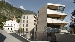 Schlossgarten Residential Complex / Marx/Ladurner Architekten