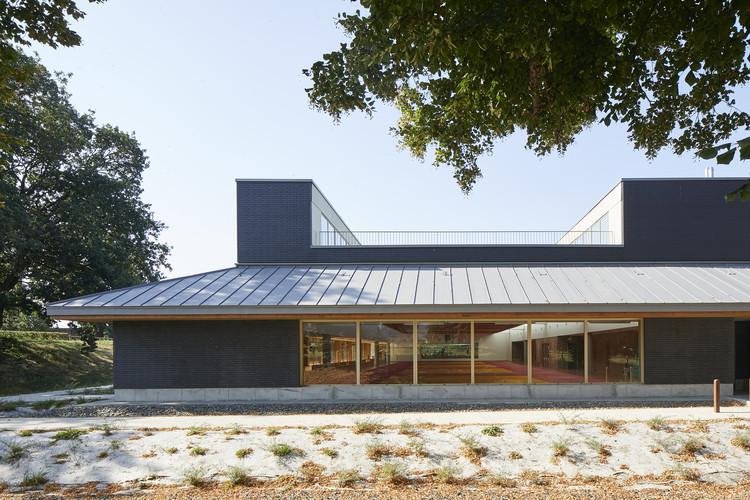 La Villette Sports Complex / Atelier Féret & Frechon Architectes, © Antoine Mercusot