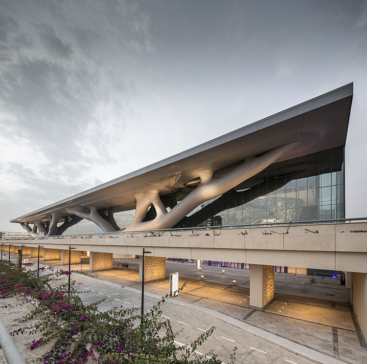 As obras de Arata Isozaki, vencedor do Prêmio Pritzker 2019, © Nelson Garrido. ImageQatar National Convention Centre