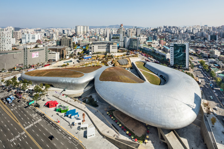 Seoul Biennale of Architecture and Urbanism 2019, Picture of main venue Dongdaemoon Design Plaza