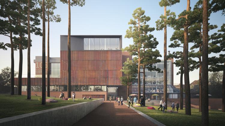 Schmidt Hammer Lassen to Transform Curtin University Library in Australia, TL Robertson Library Renovation. Image Courtesy of Schmidt Hammer Lassen
