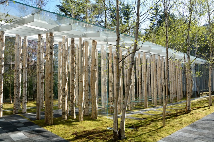 Birch Moss Chapel / Kengo Kuma and Associates, Courtesy of Kengo Kuma and Associates