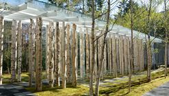 Capilla Birch Moss / Kengo Kuma and Associates