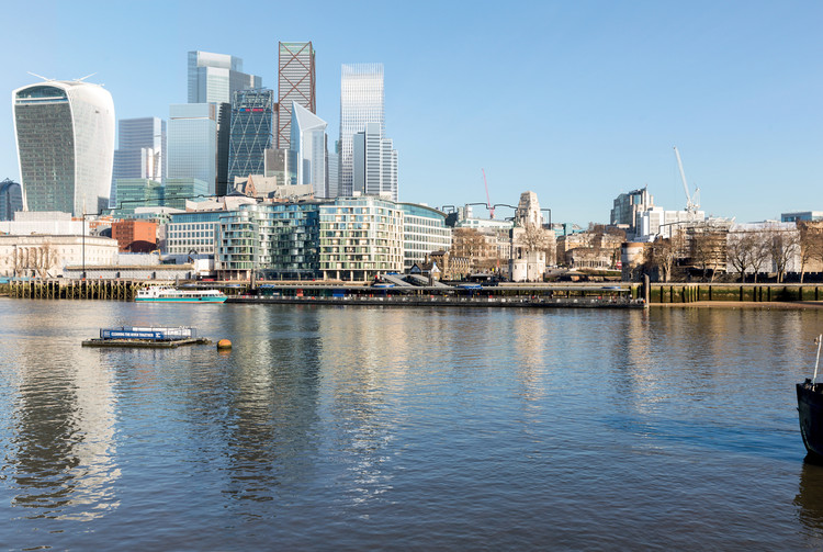 2019 to be a Record-Breaking Year for Tall Buildings in London, 100 Leadenhall Street - SOM exterior view . Image © Cityscape Digital