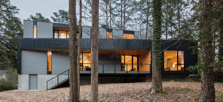 Parks Residence / The Raleigh Architecture Co., © Keith Isaacs