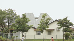 A Simple Terrace House / Pencil Office