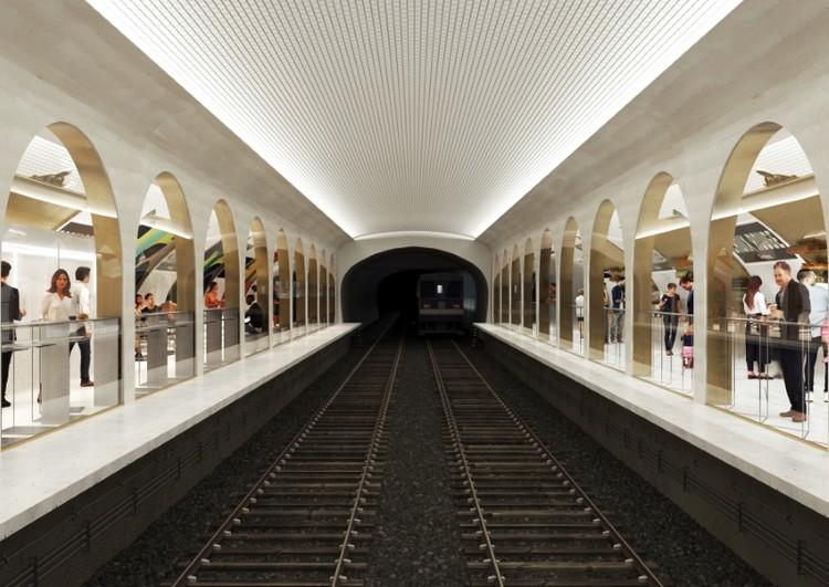 Estação de metrô desativada em Paris vai abrigar centro gastronômico subterrâneo, O projeto deve ressignificar o espaço e trazê-lo de volta à vida. Imagens: JeudiWang/SAME Architectes. Image Cortesia de Gazeta do Povo / Haus