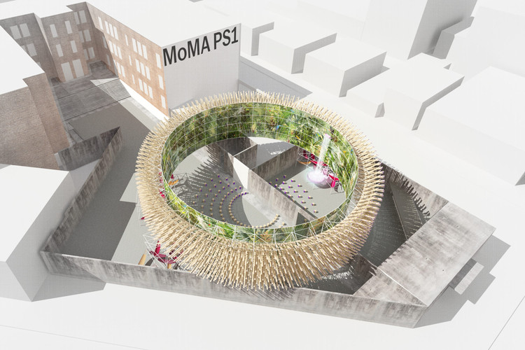 Mexicanos triunfan en el Young Architects Program del MoMA PS1 2019, Courtesy of Pedro & Juana