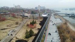 Mikhailovskaya Embankment / Strelka KB + Adaptik-A