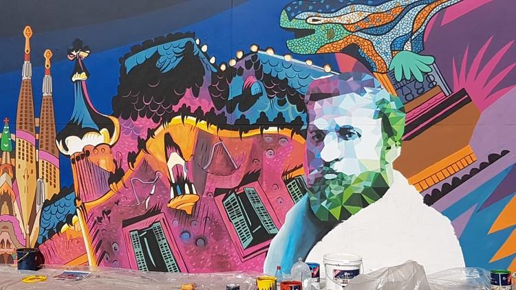 'Gaudí en Valparaíso' presenta por primera vez en Chile obras emblemáticas del arquitecto catalán, Cortesía de Gaudí en Valparaíso