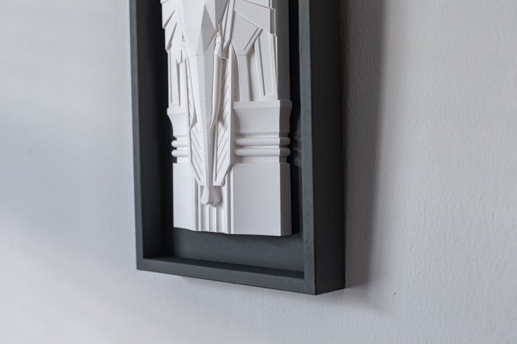Detailed Sculptures Capture the Beauty of Brutalism and Art Deco in Northern Irish Architecture, © Model Citizen