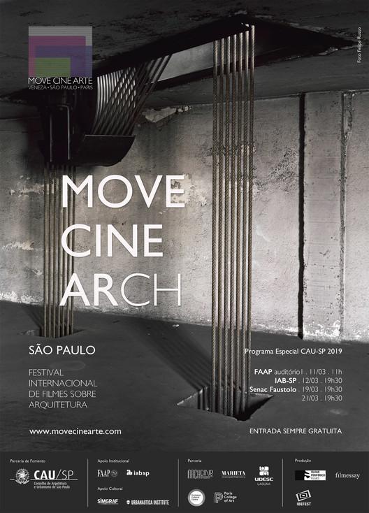 MOVE CINE ARCH - Programação em São Paulo