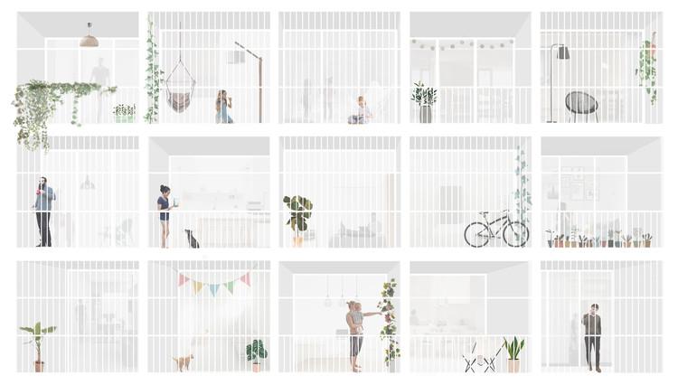 Los mejores proyectos de fin de carrera diseñados por estudiantes de arquitectura en Argentina 2018, Cortesía de Yandi Isola, Galia Supersaxco