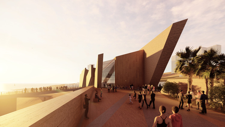 Daniel Libeskind to Design the Regional Museum of Iquique in Northern Chile, Cortesía de I. Municipalidad de Iquique y autorías ©StudioLibeskind