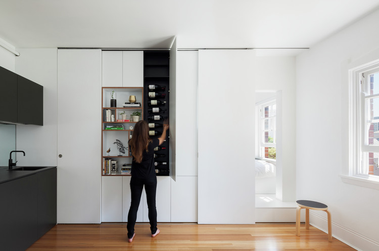 Darlinghurst Apartment / Brad Swartz Architect. Image © Katherine Lu