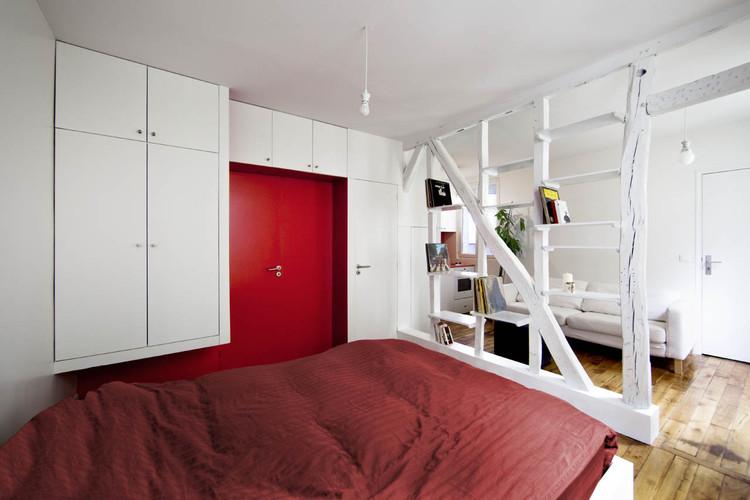 Montmartre Apartment / SWAN Architectes. Image © Maxime Vantorre