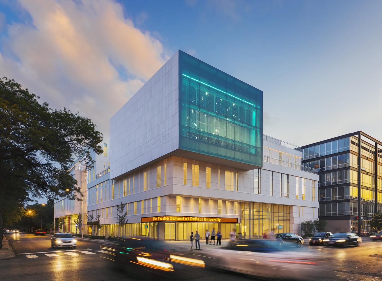 Gallery of The Theatre School, DePaul University / Pelli