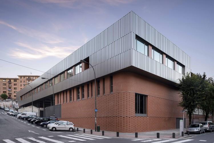 IES San Adrián Bilbao / i2G arquitectos, © Erlantz Biderbost photo