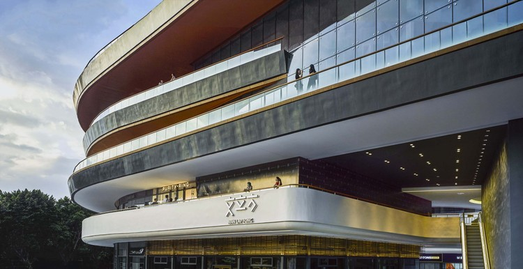 Ersha Island MAN LAP FONG / FEI Architects, 3D street. Image © Qiu