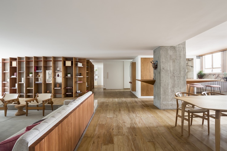 Apartment VLP / Pascali Semerdjian Arquitetos, © Ricado Basetti