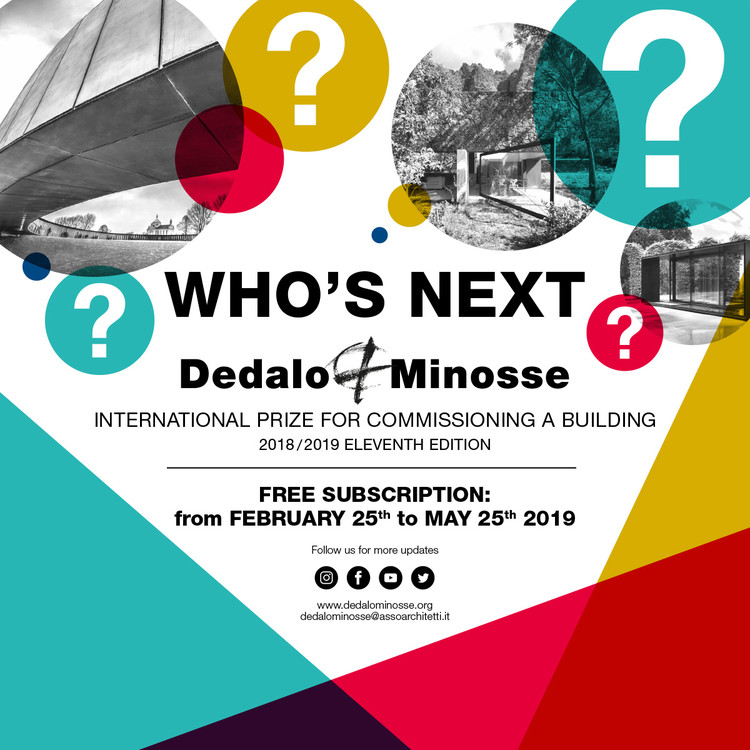 Call for Submission: 11th Edition of the Dedalo Minosse International Prize, Dedalo Minosse XI edition by Claudia Cogato Lanza