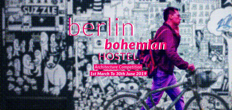 Open Call: Berlin Bohemian Hostel, Berlin Bohemian Hostel; Credits: Archasm