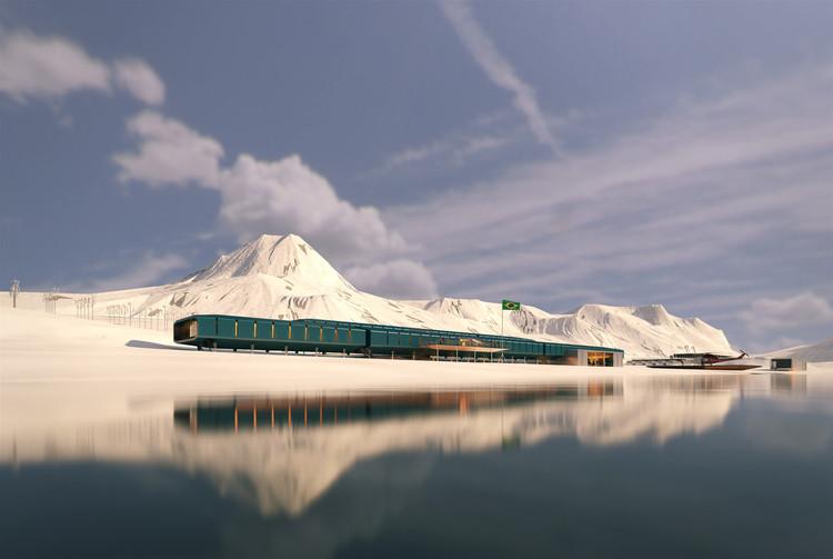 Estação Comandante Ferraz projetada pelo Estúdio 41 está pronta para inauguração na Antártica , Cortesia de Estúdio 41