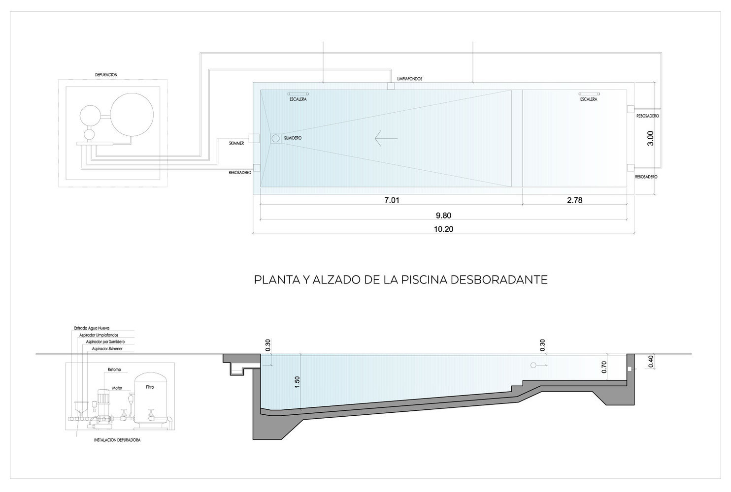 Gallery of Infinity Pools in 15 Architecture Projects - 18 on air conditioning schematic diagram, infinity swimming pool designs, natural swimming pool diagram, spa schematic diagram, swimming pool plumbing isometric diagram,